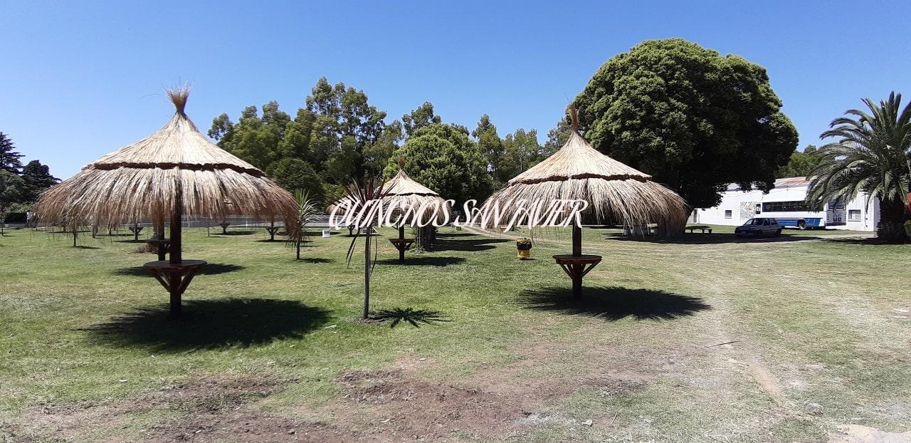 Sombrillas De Junco Hawaianas Para Jardín Rusticas.