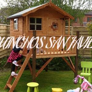 casita de madera linea economica